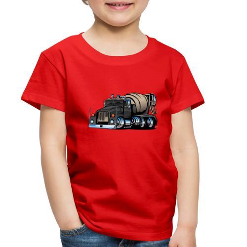 Cement Mixer Truck - Toddler Premium T-Shirt