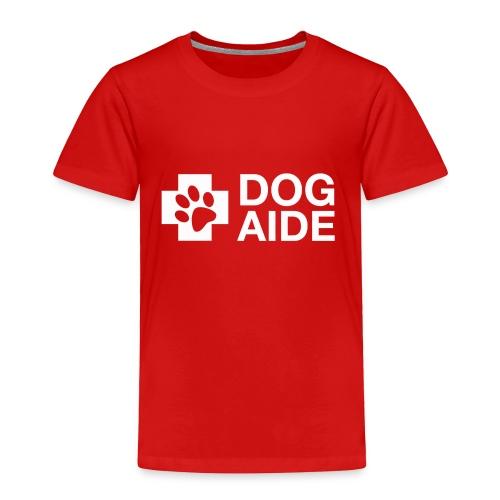 DA Logo White - Toddler Premium T-Shirt