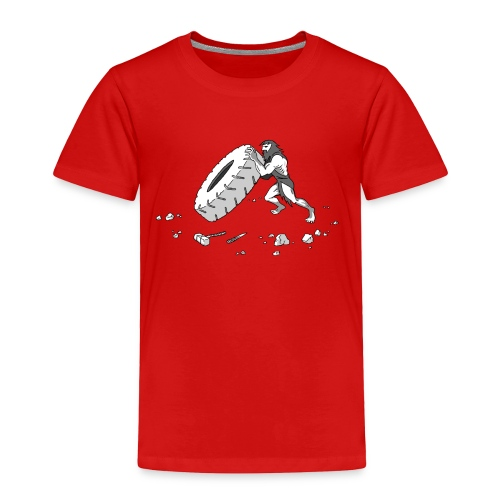 Stone Age Strength - Toddler Premium T-Shirt