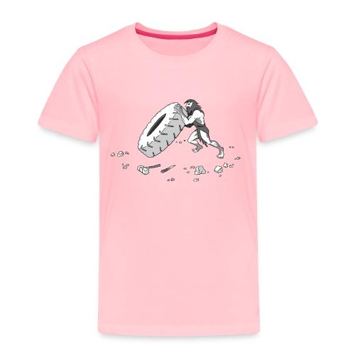 Stone Age Strength - Toddler Premium T-Shirt