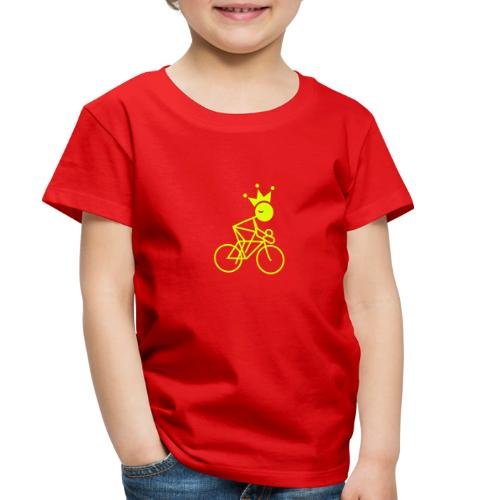 Winky Cycling King - Toddler Premium T-Shirt