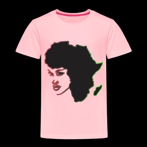 Afrika is Woman - Toddler Premium T-Shirt