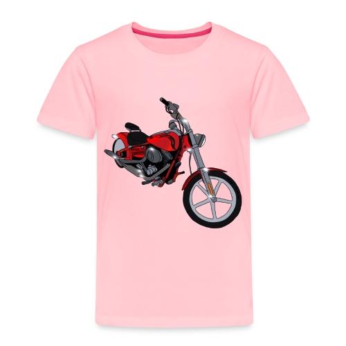 Motorcycle red - Toddler Premium T-Shirt