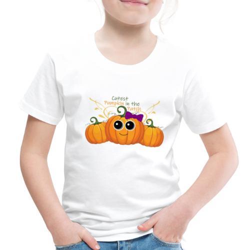 cutest pumpkin - Toddler Premium T-Shirt