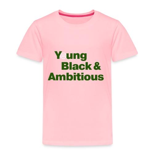 YBA PinkandGreen2 - Toddler Premium T-Shirt