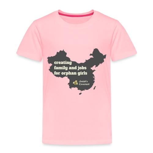 Josiah's Covenant - map - Toddler Premium T-Shirt