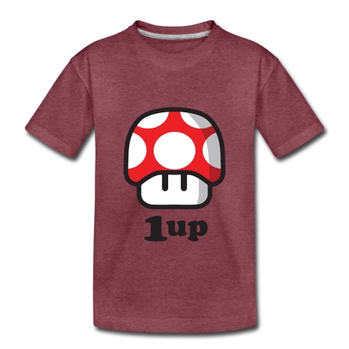 1 Up - Toddler Premium T-Shirt