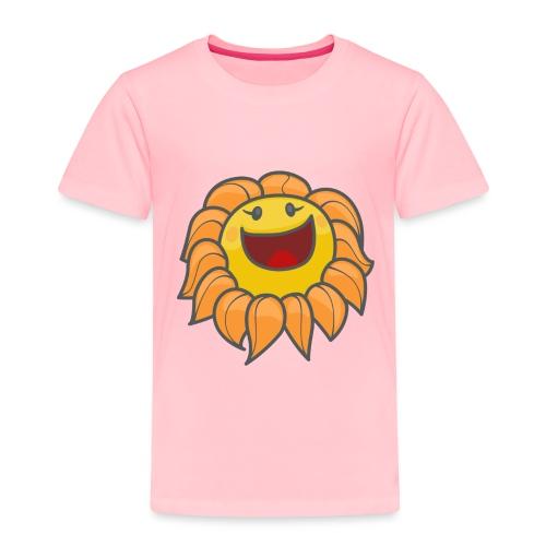 Happy sunflower - Toddler Premium T-Shirt
