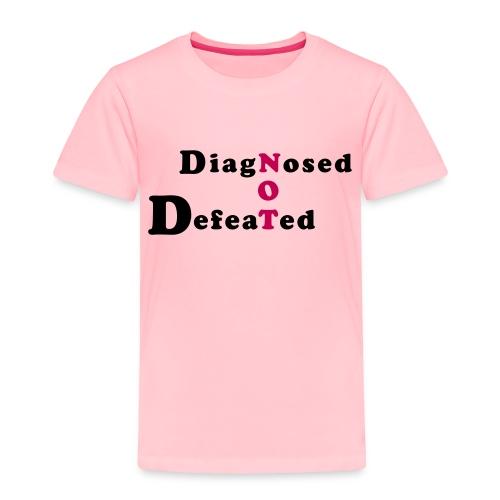 not defeatednourl - Toddler Premium T-Shirt