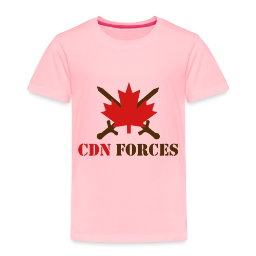 Canadian Forces Cross - Toddler Premium T-Shirt