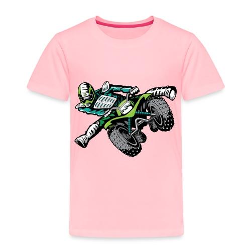 ATV Freestyle Quad Green - Toddler Premium T-Shirt