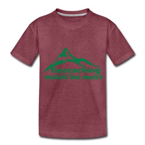 Geocaching in the Rain - Toddler Premium T-Shirt