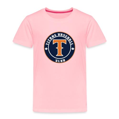 Titans Baseball Club Round Logo - Toddler Premium T-Shirt