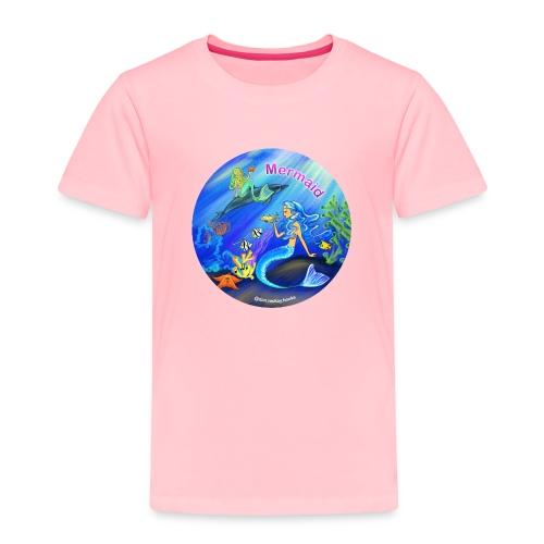 Mermaid print - Toddler Premium T-Shirt