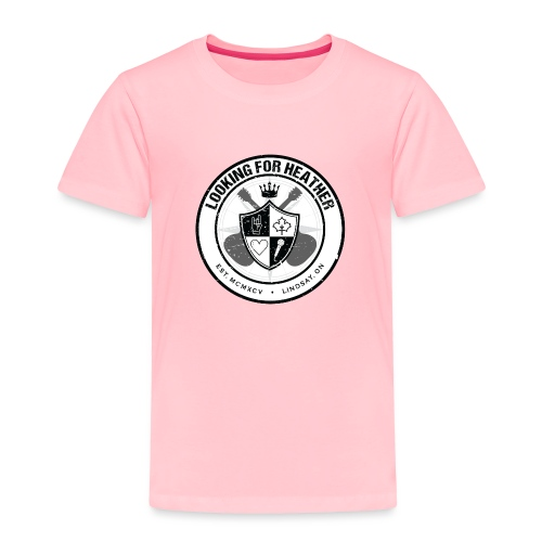 Looking For Heather - Crest Logo - Toddler Premium T-Shirt