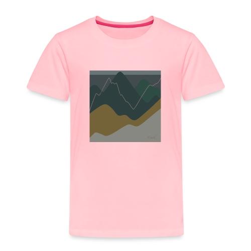 Mountains - Toddler Premium T-Shirt