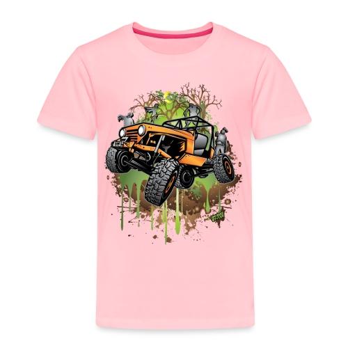 Wrangler Halloween Zombie - Toddler Premium T-Shirt
