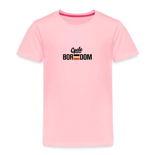 Belgian E-Flag - Toddler Premium T-Shirt