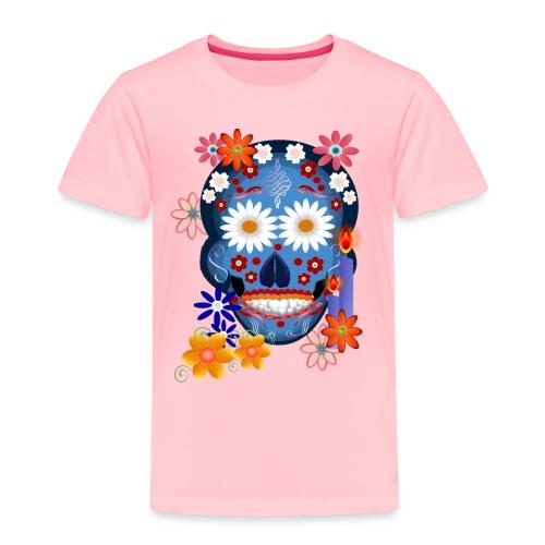 DarkSkull-day of the dead - Toddler Premium T-Shirt
