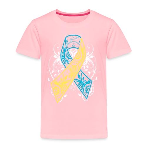 Down syndrome Ribbon - Toddler Premium T-Shirt
