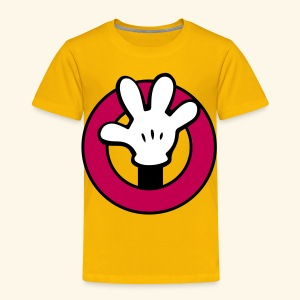 Hands Up! [for adventure] - Toddler Premium T-Shirt