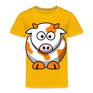 Orange Cow - Toddler Premium T-Shirt