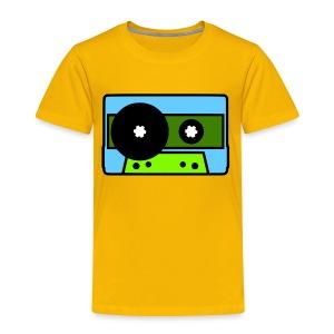 424 Recording Cassette Tape Logo T-Shirt - Toddler Premium T-Shirt