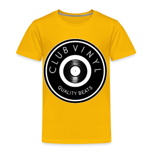 CLUBvinyl RECORDwhite - Toddler Premium T-Shirt