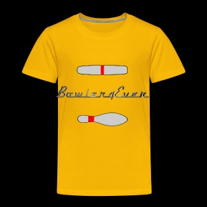 Bowler4Ever Pins Logo - Toddler Premium T-Shirt