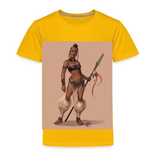 Female Warrior - Toddler Premium T-Shirt