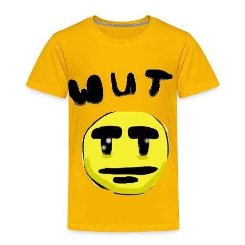 Wut Face - Toddler Premium T-Shirt