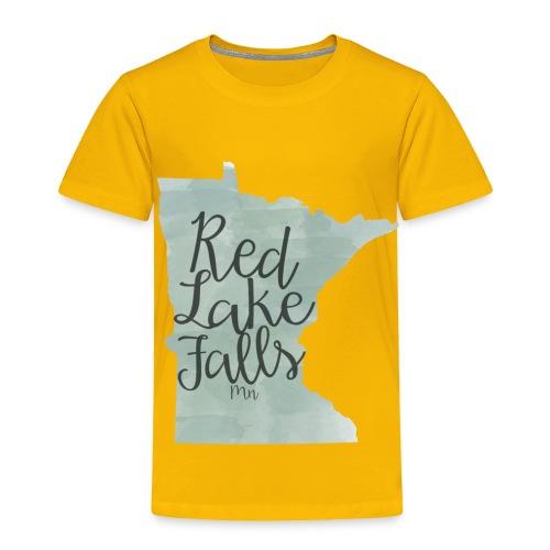 Red Lake Falls Long Sleeve Shirt - Toddler Premium T-Shirt