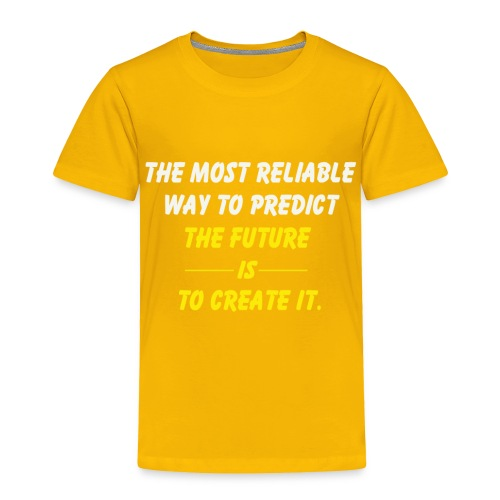 create the future - Toddler Premium T-Shirt