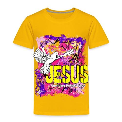 JESUS UNENDING PERFECT LOVE - Toddler Premium T-Shirt