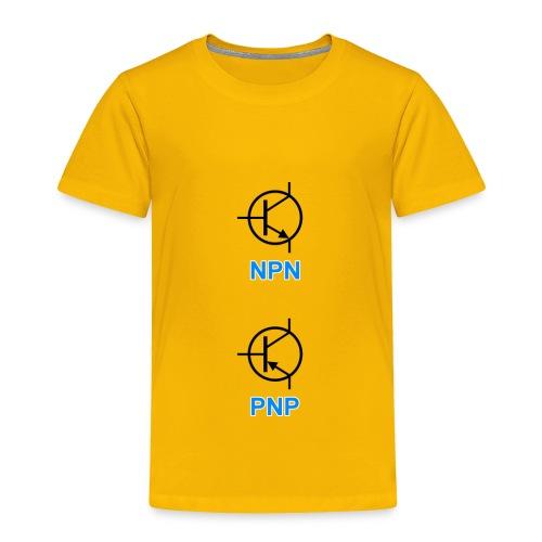 Transistors (NPN & PNP) - Toddler Premium T-Shirt