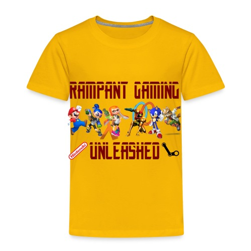 Rampant Gaming Unleashed - Toddler Premium T-Shirt