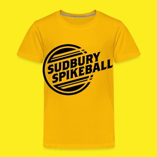 Sudbury Spikeball - Toddler Premium T-Shirt
