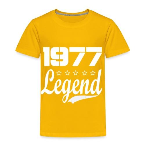 77 Legend - Toddler Premium T-Shirt