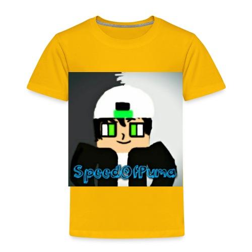SpeedofPuma - Toddler Premium T-Shirt