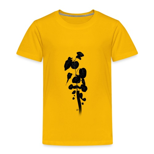Silhouetted Plant - Toddler Premium T-Shirt