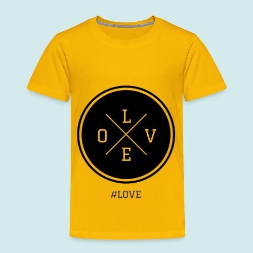 #love black and white - Toddler Premium T-Shirt