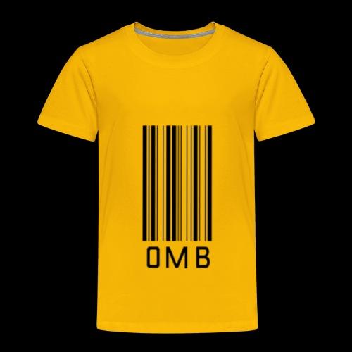Omb-barcode - Toddler Premium T-Shirt