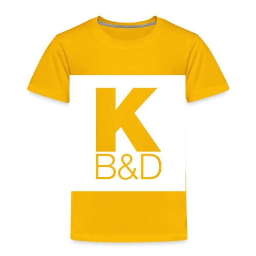 KBD_White - Toddler Premium T-Shirt