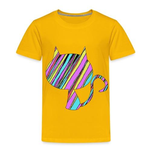 The Skis Cat - Toddler Premium T-Shirt