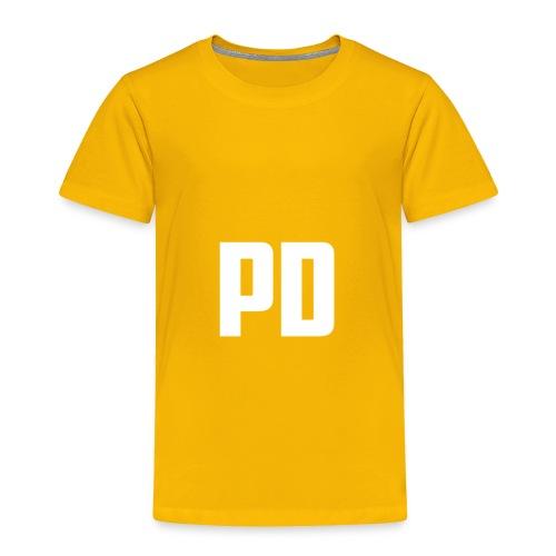 POWdrummer's Logo Shirt - Toddler Premium T-Shirt