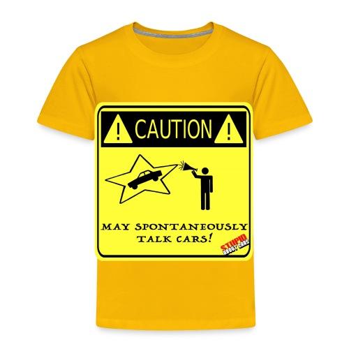 TALK_CARS - Toddler Premium T-Shirt