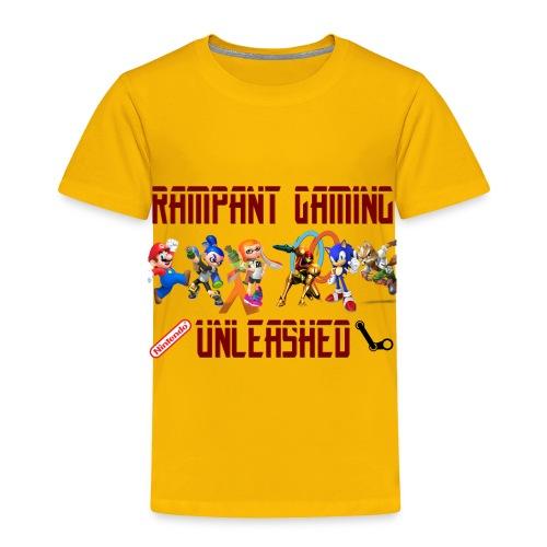 Rampant Gaming Unleashed - Toddler Premium T-Shirt