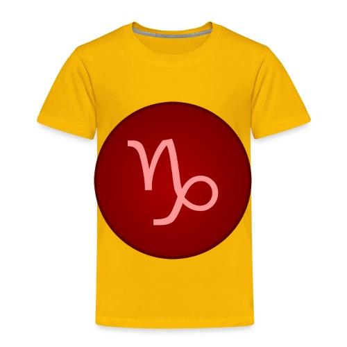Capricorn Symbol - Toddler Premium T-Shirt