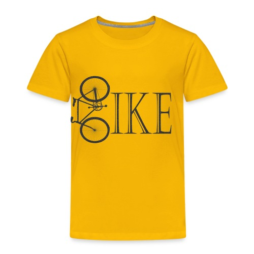 Bicycle Bike Design - Toddler Premium T-Shirt