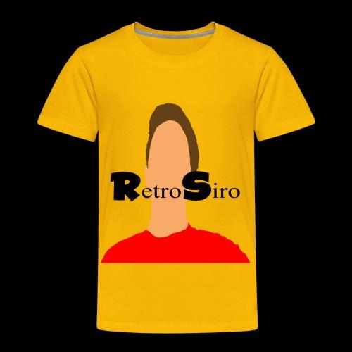 RetroSiro face - Toddler Premium T-Shirt